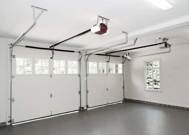 Inside Of Garage With Opener