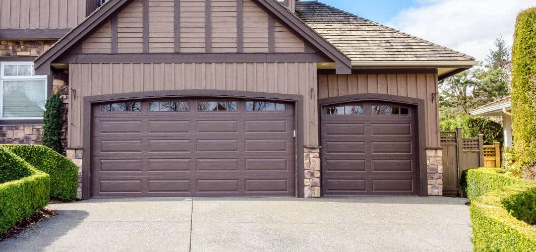 Estate Style Garage Door